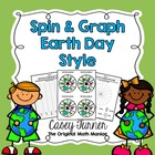 Spin & Graph: Earth Day (Bar Graph, Tally Chart, Line Plot