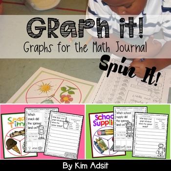 Spin a Graph Pack - Graphs for Math Journals