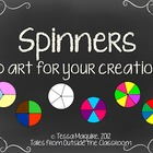 Spinners Clip Art