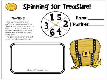 Spinning for Gold...Building Number Sense