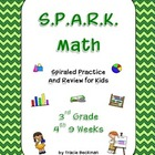 Spiraled STAAR/CCSS Math Review for 3rd Grade - 4th 9 Weeks