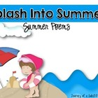Splash Into Summer! Summer Poem Pack
