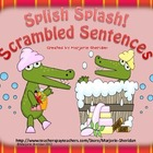 Splish Splash! Scrambled Sentences