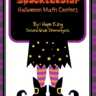 Spooktacular Halloween Math Centers