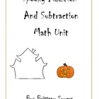 Spooky Addition and Subtraction Fun!