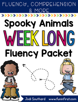 Spooky Animals Fluency Passages