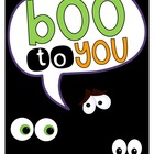 Common Core Aligned: BOO to You!  {Activities and Crafts f