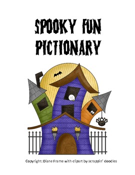 Spooky Fun Pictionary