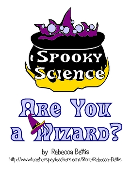 Spooky Science FREEBIE: Are You a Wizard? Potions Test Experiment