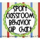 Sport Classroom Behavior Chart