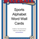 Sports Alphabet Word Wall Cards