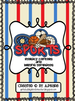 Sports Themed Literacy & Writing Unit