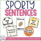 Sporty Sentences! Activities for Speech & Language Therapy