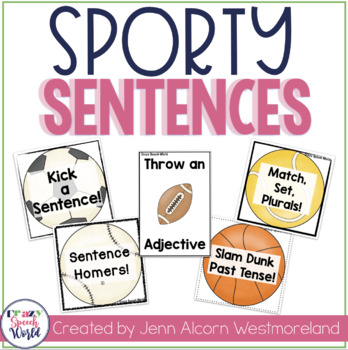 Sporty Sentences! Grammar Activities for Speech & Language