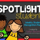 Spotlight Student  {The Creative Classroom}