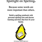 Spotlight on Spelling