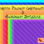 Spotty Digital Paper Collection - Summer Brights