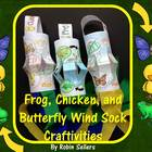 Spring Activities {Frog Butterfly and Chicken Life Cycle W