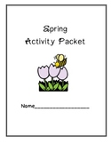 Spring Activity Packet