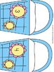 Spring Addition Matching Game Numbers 1 to 5