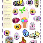 Spring Addition, Subtraction, and Multiplication Bump Game