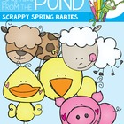Spring Babies on the Farm - Clipart - Graphics From the Pond