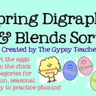 Spring Blends and Digraphs Word Sort