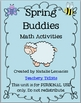 Spring Buddies Math Activities