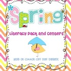 Spring Centers and Activities for Literacy