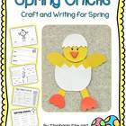 Spring Chick Crafivity and Writing
