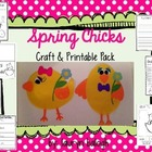 Spring Chick Craft & Printable Pack