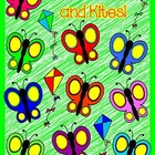 Spring Clip Art For Patterning Set 1 Commercial Use OK