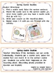 Spring Cookie Doubles (Addition &amp; Subtraction)