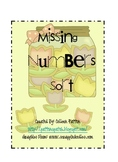 Spring Cookie Missing Number Sort
