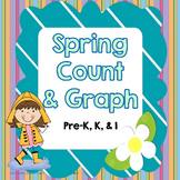 Spring Count and Graph in color and black and white