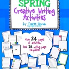 Spring Creative Writing Activities & Handouts