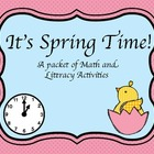 Spring / Easter Math and Literacy Centers