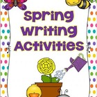 Spring Edition of Making Sentences and Writing Activities