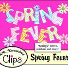 Spring Fever Letters, Numbers and More! ~Commercial use~