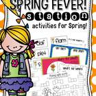 Spring Fever! Math and Literacy stations