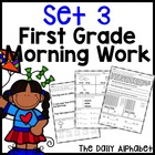 Spring First Grade Morning Work