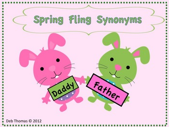 Spring Fling Synonyms