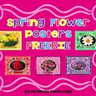 Spring Flower Posters FREEBIE