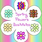 Spring Flowers Activities for Early Learners