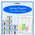 Spring Flowers Sort, Pattern, Graph