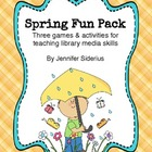 Spring Fun Pack: Seasonal Library Skills Activities
