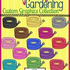 Spring Garden Clip Art: Garden Hoses