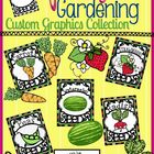 Spring Garden Clip Art: Seeds, Fruits & Veggies