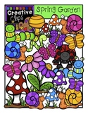 Spring Garden {Creative Clips Digital Clipart}