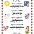 Spring Has Begun poem